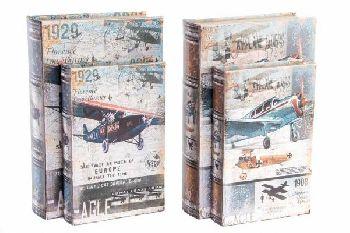 repülőgép mintás dobozok