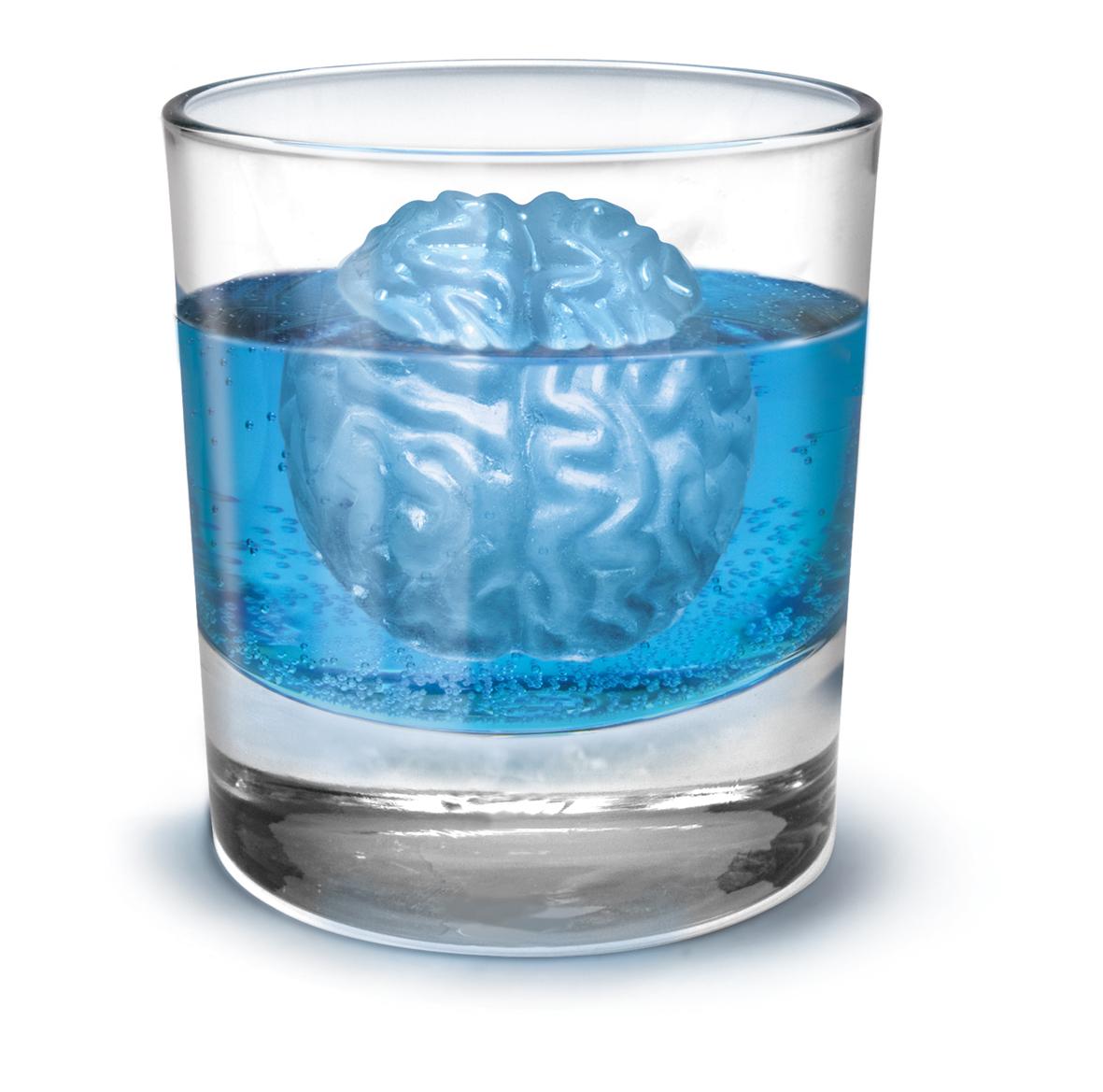 agy formájú jégkocka