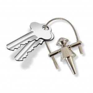 női kulcstartó