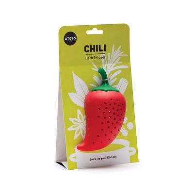 Chili fűszertartó, fűszeráztató