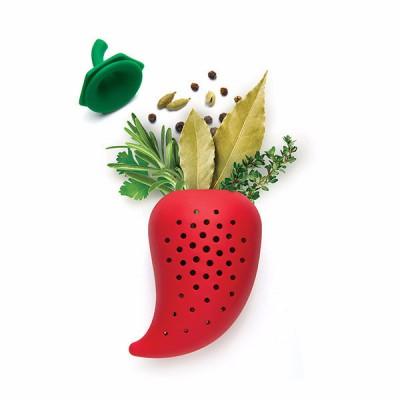 Chili alakú fűszertartó, fűszeráztató