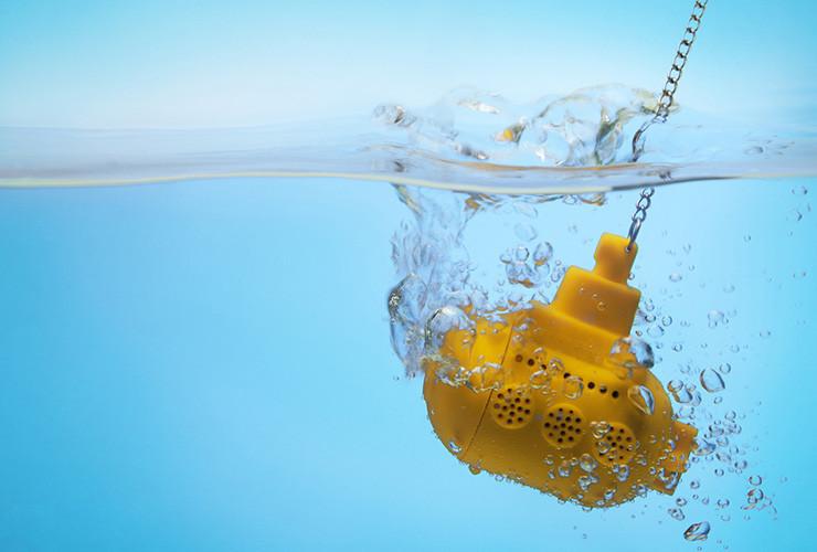 yellow submarine teatojás