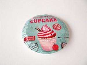 muffin mintás hűtőmágnes