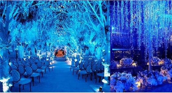 Alkonyat stílusú esküvő