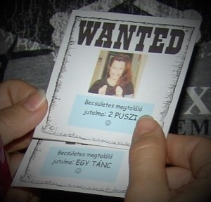 lánybúcsú-Wanted-kártya