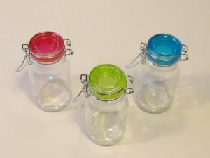 csatos üveg készlet
