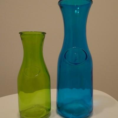 Vintage üveg váza