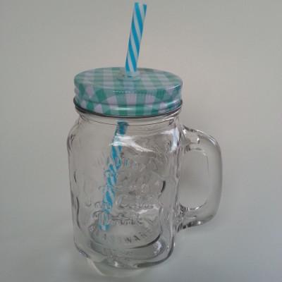 Limonádés üveg bögre pohár