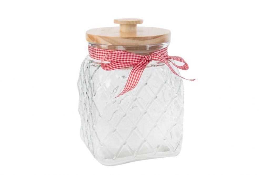 Konyhai üveg tároló edény