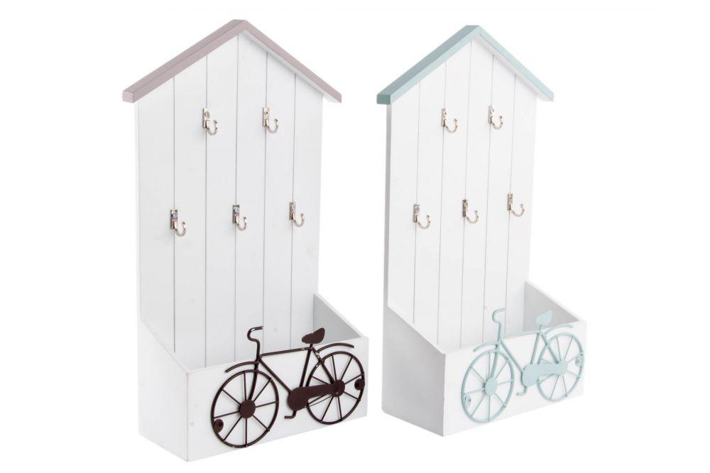 0d3cb365b4 Vintage levéltartó láda kulcstartóval, biciklis | Lilapapagáj