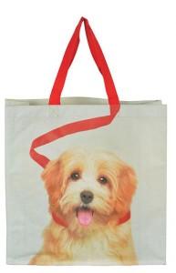 Bevásárló táska kutya mintával