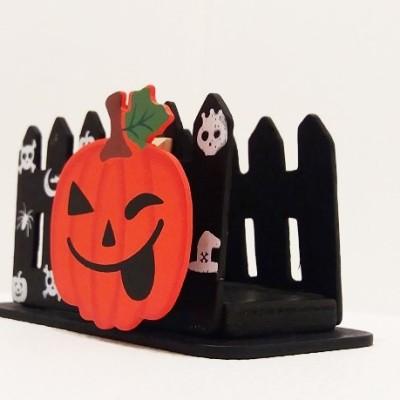 szalvétatartó halloweeni tök dekorral
