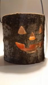 Halloween gyertyatartó