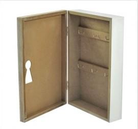 Kulcsos szekrény home dekorral