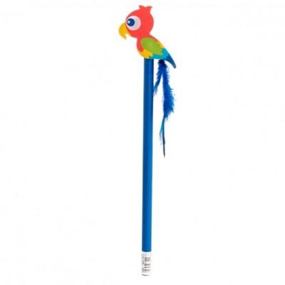 Papagájos radír és ceruza