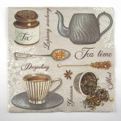 Tea témájú szalvéta