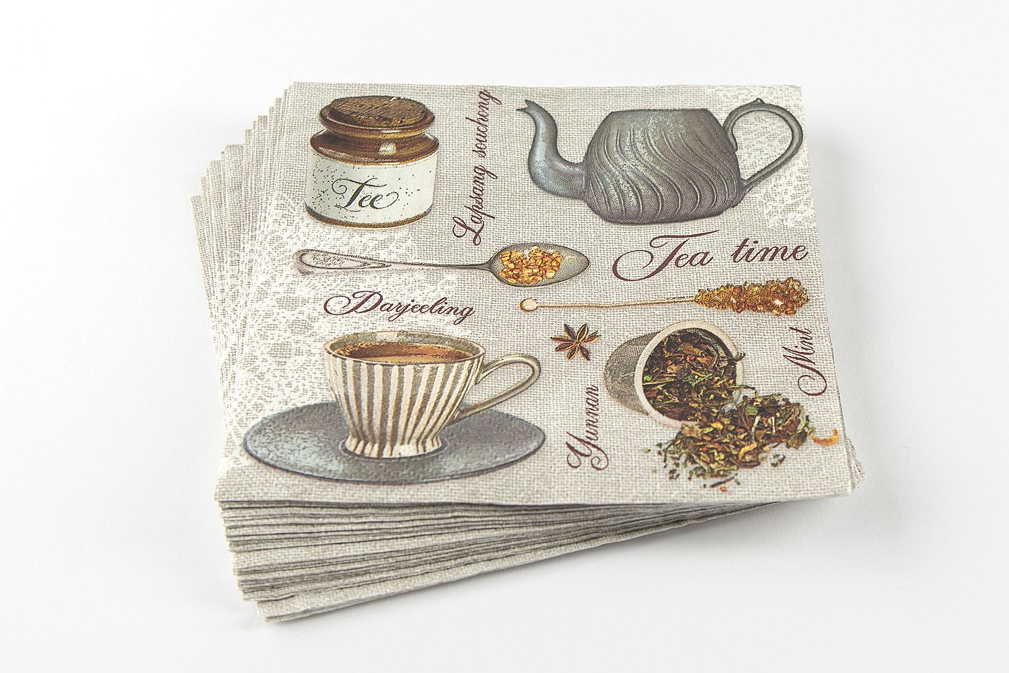 Tea mintás szalvéta