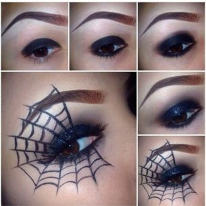 pókháló smink
