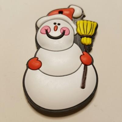 hóember hűtőmágnes