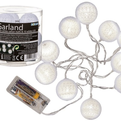 LED gömb füzér