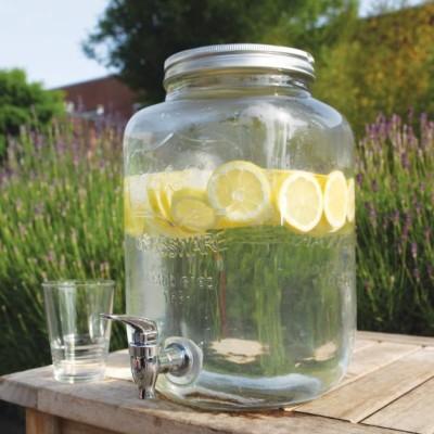 limonádés üveg, 7,7 literes italadagoló, csapos üveg