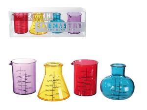 kémikus pálinkás pohár