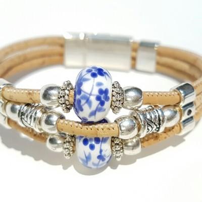 Parafa karkötő, egyedi ékszer Azulejo