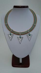 Parafa nyaklánc - Triangulum, egyedi ékszer