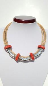 Parafa nyaklánc - TŰZ, egyedi ékszer