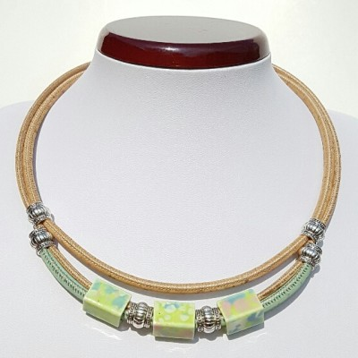 Parafa nyaklánc - Vadvirág, egyedi ékszer