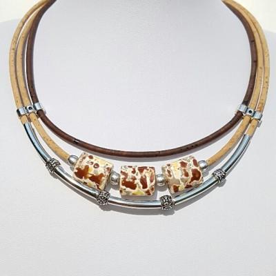 Parafa nyaklánc - Brownie, egyedi ékszer