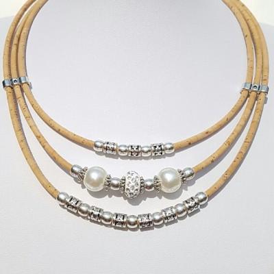 Parafa nyaklánc - Csillogás, gyöngy, egyedi ékszer