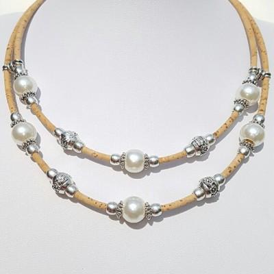 Parafa nyaklánc - gyöngy, egyedi ékszer