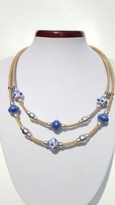 Parafa nyaklánc Azulejo, egyedi ékszer