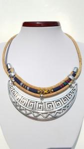 Parafa nyaklánc - Azték, egyedi ékszer