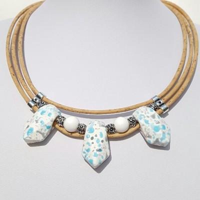 Parafa nyaklánc - Vízcsepp, egyedi ékszer