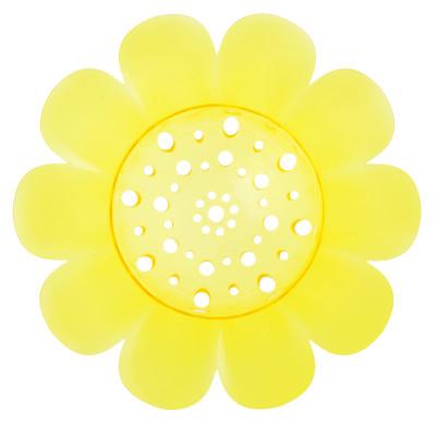 virág formájú lefolyószűrő, Cool termékcsalád sárga