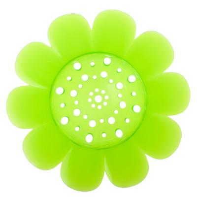 virág formájú lefolyószűrő, Cool termékcsalád zöld