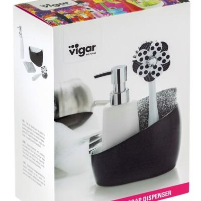 3 részes mosogató készlet a dizájn konyha kedvelőknek. Lolaflor termékcsalád a Vigartól. Eredeti spanyol dizájn